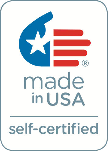 Made in the USA. Self-Certified